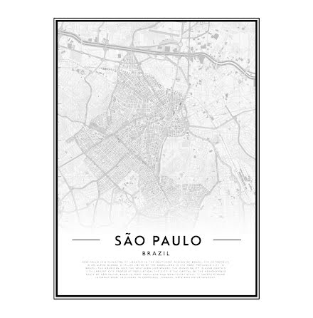 CITY MAP - SAO PAULO