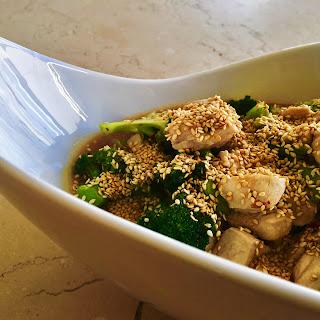 Thai Chicken and Sesame Stir Fry.