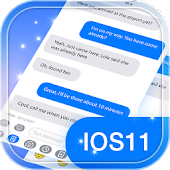 iMessenger SMS for iPhone X with Theme 2018 Icon