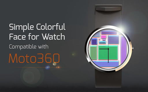 Simple Colorful Face for Watch