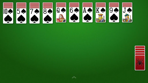 Spider Solitaire  gameplay | by HackJr.Pw 9