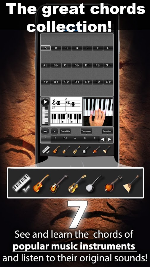Chords Maestro FREE- screenshot
