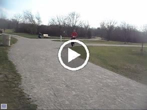 Video: Paul Turnbaugh's running buddy