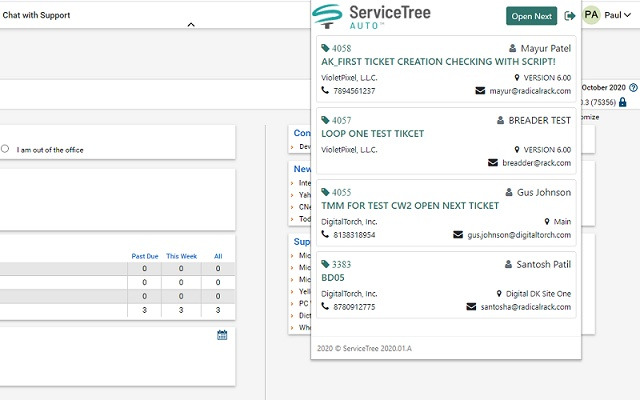 ServiceTree AUTO - ConnectWise Plugin