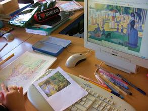 Photo: Impresionismo. Alumnado 5º y 6º. Puntillismo