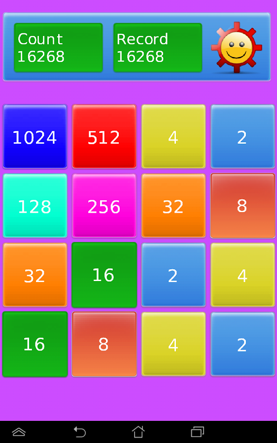 2048 + Numbers- screenshot
