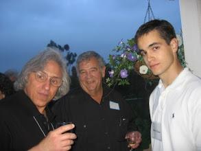 Photo: Professors Abel Klein, Charles Plott and graduate student John O'Leary