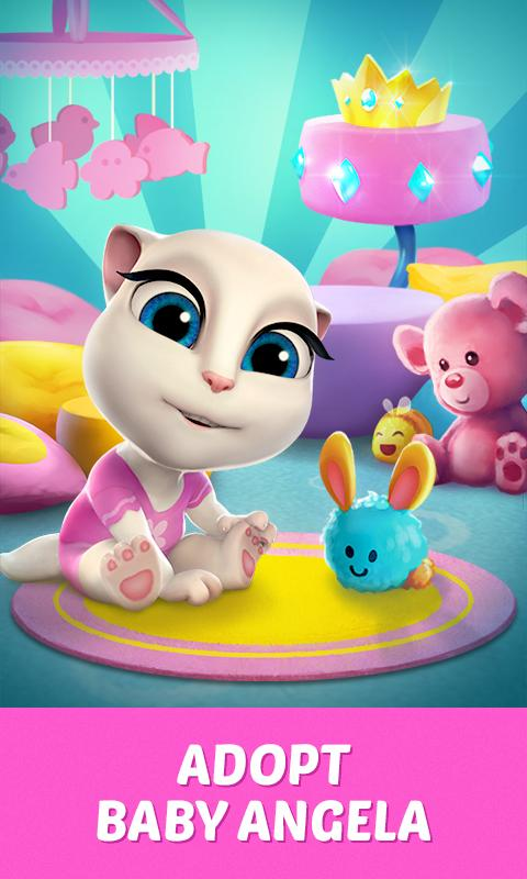 My Talking Angela v1.8.2 [Mod Money]