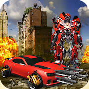 Game Extreme War of Robot - Transform Car Fight apk for kindle fire