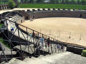 Photo: Das Amphitheater – einst Schauplatz grausamer Spektakel...