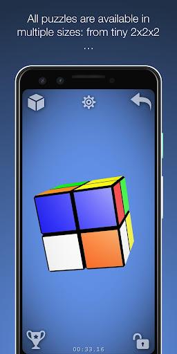 Magic Cube Puzzle 3D 1.14.4 screenshots 4