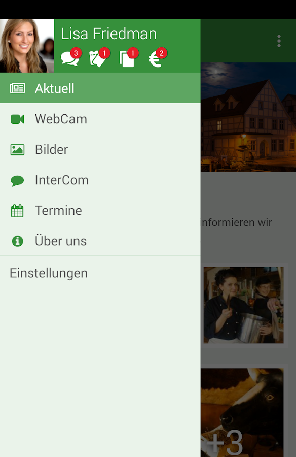 Exempel Gaststuben- screenshot
