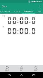 HTC Clock Screenshot 3