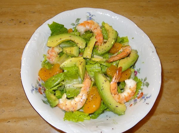 Tantalizing Mandarin Orange Shrimp Salad Recipe