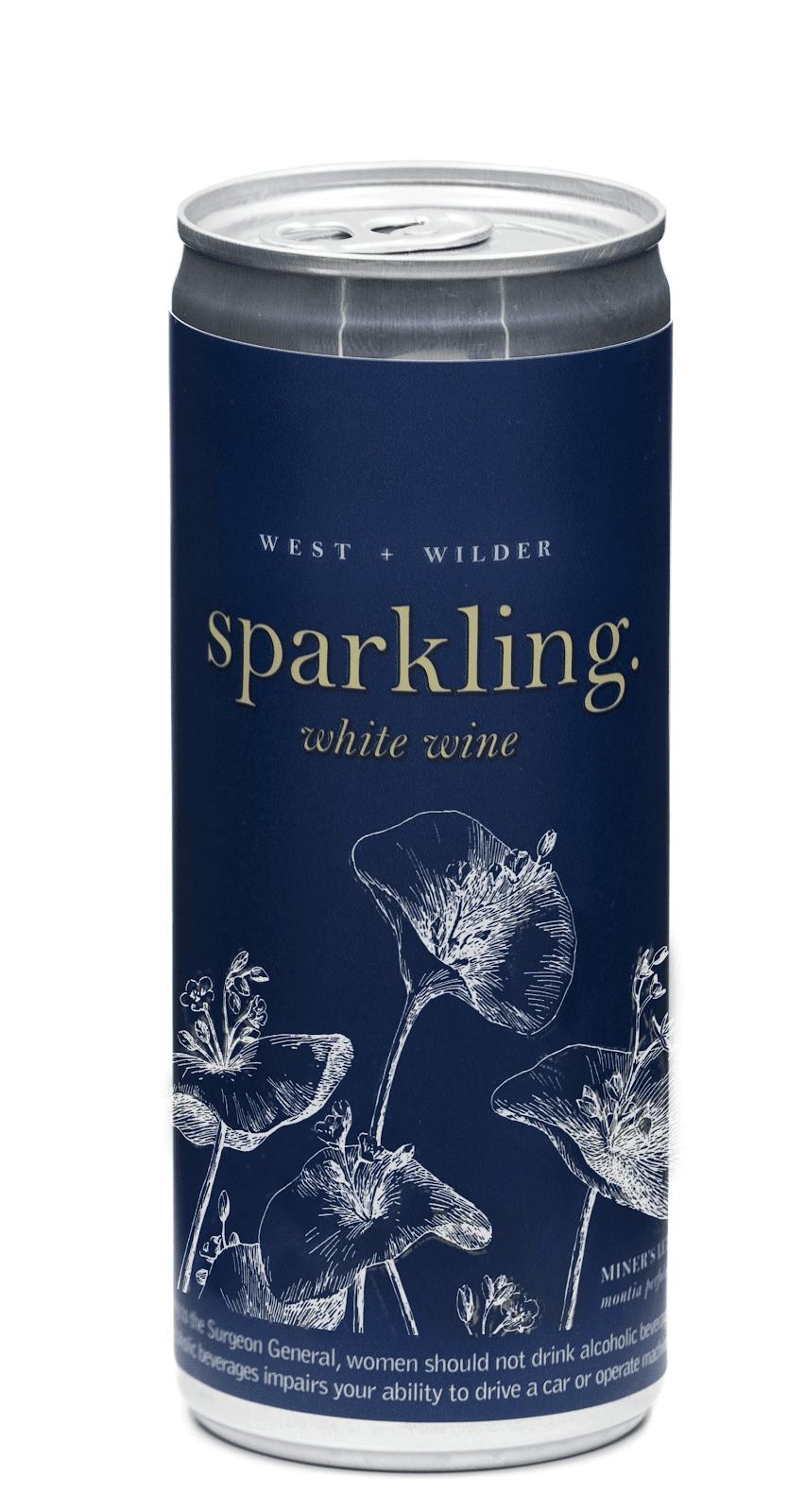 West+Wilder Sparkling Wine