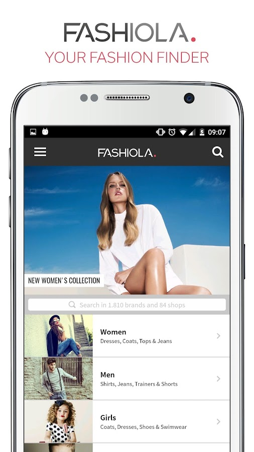 Fashiola- screenshot