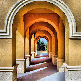 The Archway by Terry Davey - Buildings & Architecture Other Exteriors ( archway )
