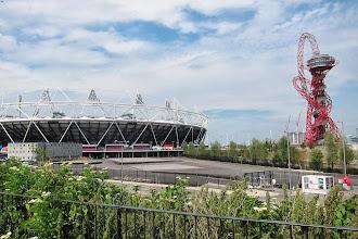 Photo: Olympic stadium.