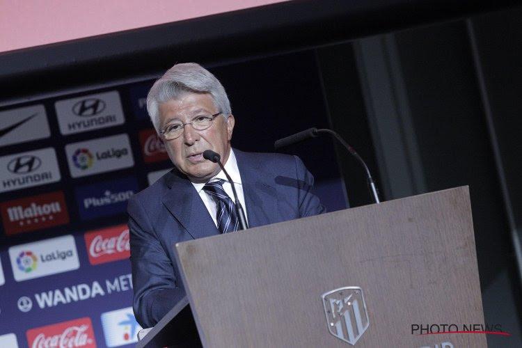 Voorzitter Atletico is erg duidelijk over toekomst sterkhouder