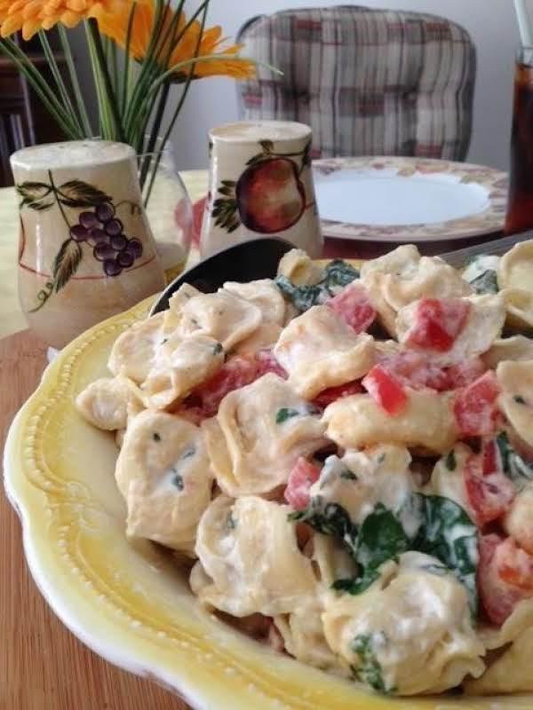 Creamy Tortellini Florentine Recipe