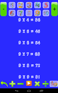 Multiplication Tables for Kids- screenshot thumbnail