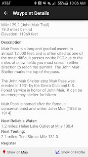 Guthook's JMT Guide- screenshot thumbnail