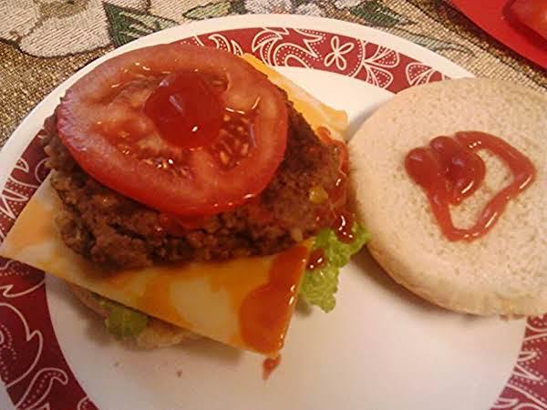 Mesquite Green Chili And Tomato Fresh Burgers Recipe