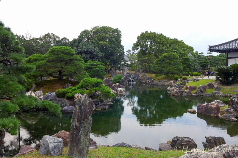 Nijo Castle ponds