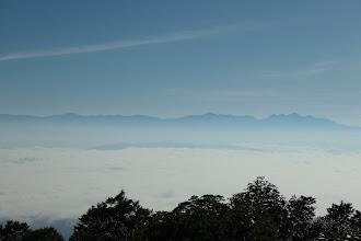 穂高連峰から薬師岳まで