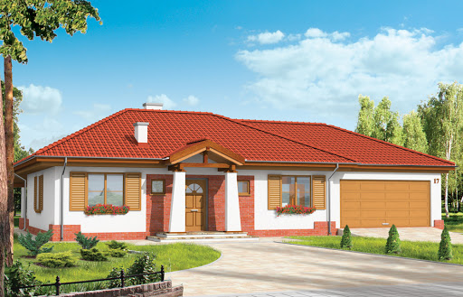 projekt domu Cztery kąty