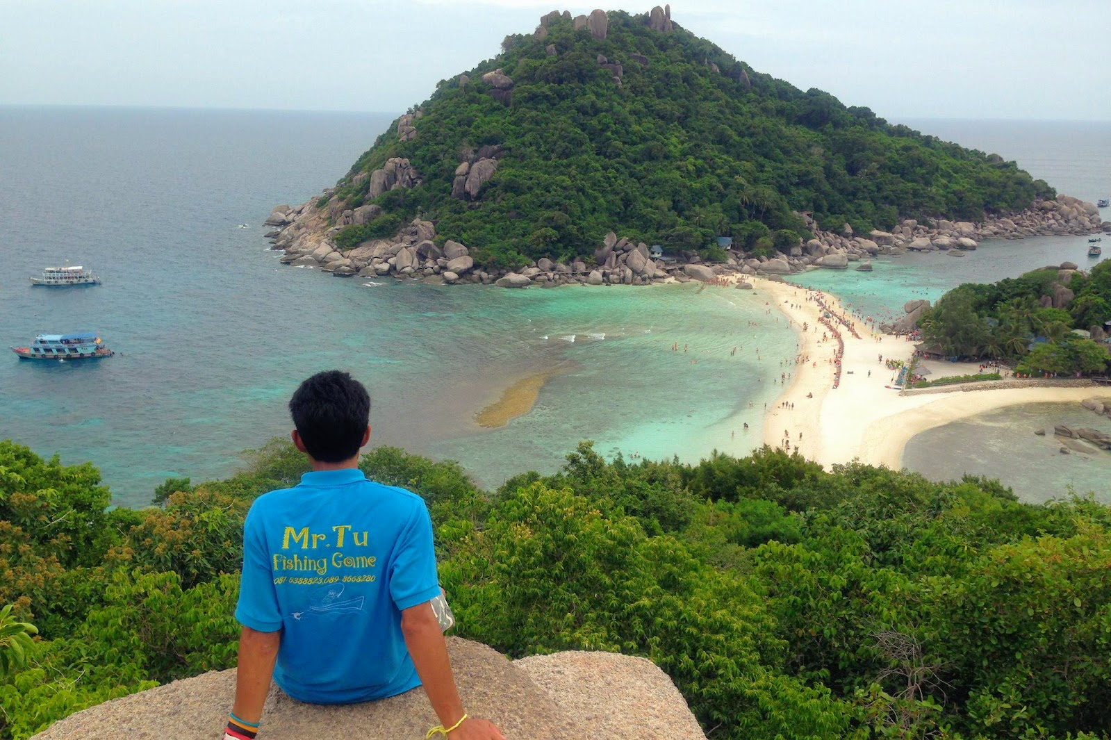 Mr. Tu Snorkel Day Trip to Koh Nangyuan & Koh Tao by Speed Boat from Koh Samui