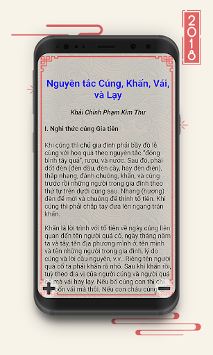 Lich Van Nien 2018 - Lich Am Duong for PC