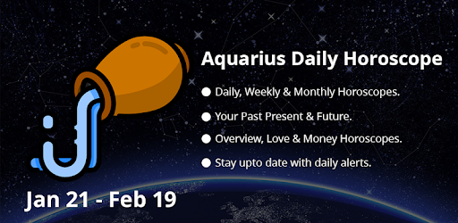 Aquarius Daily Horoscope for Today with Lovescopes