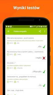 Polska ortografia - Język polski Screenshot