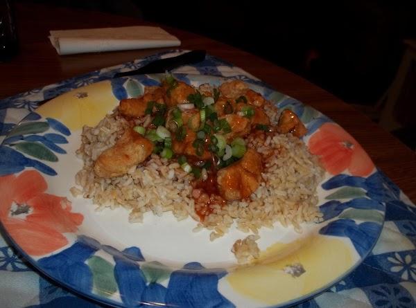 Jared's General Tso's Chicken Recipe