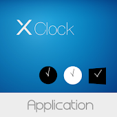 X Clock Widget Collection