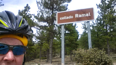 Photo: Collado Ramal, the real name for 'clip-clop hill'