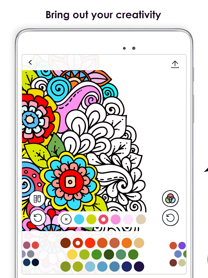 Coloring Book For : Mycolorful u2013 coloring book for adults android apps on google play