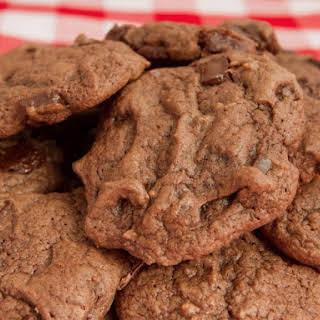 Bittersweet Chocolate Blackout Cookies.