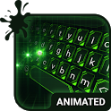 Green Light Animated Keyboard + Live Wallpaper icon