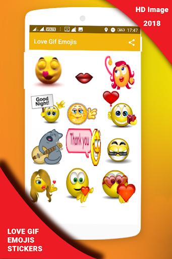 Love Gif Emoji Stickers 1.0.3 screenshots 11