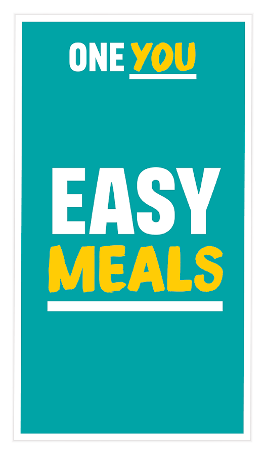 One You Easy Meals- screenshot