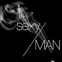 sexy man icon