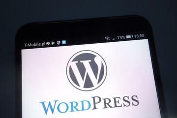 WordPress di handphone