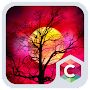 Red Full Moon Theme C Launcher APK icon