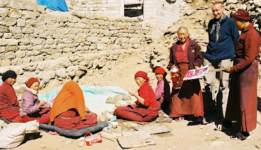 Photo: Im Frauenkloster von Thamo