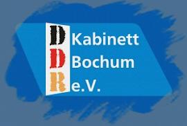 Logo: DDR-Kabinett Bochum.