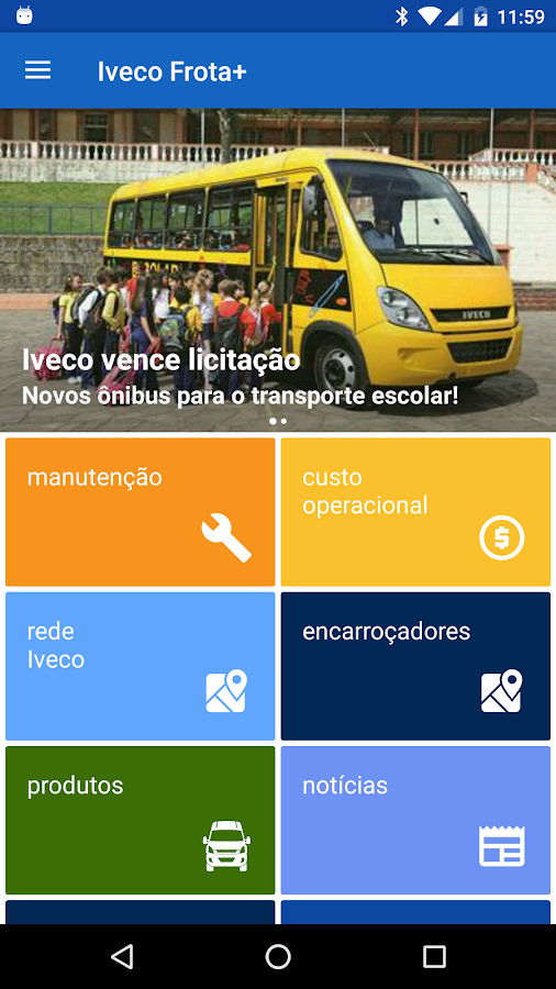 Iveco Frota+- screenshot