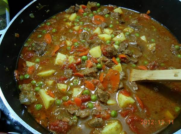 Steak & Vegetable Soup Recipe