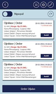 Driver Ojekkoe screenshot 1